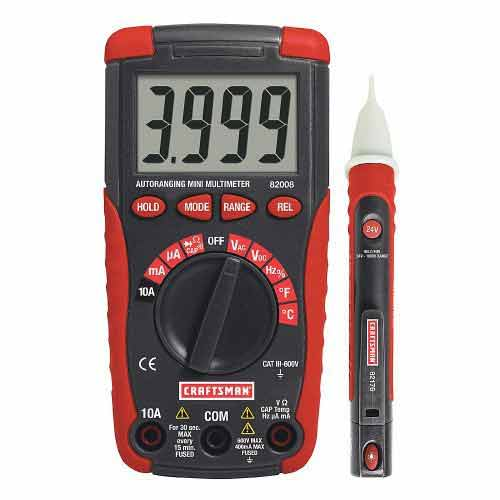 Craftsman digital multimeter 82141